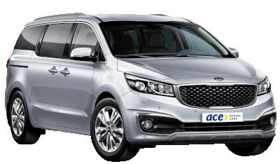 Rent a Kia Carnival or similar