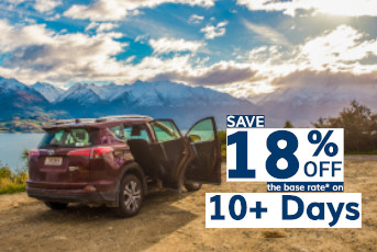 Save 18% Off 10+ Day Rentals