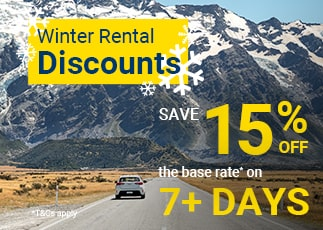Winter Sale - Save 15% Off Your Rental