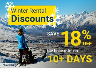 Winter Sale - Save 18% Off Your Rental