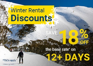 Winter Deal - Save 18% Off 12+ Days