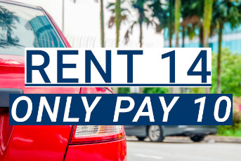 4 Free Rental Car Days