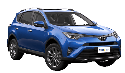 Rent a Toyota Rav4 or similar